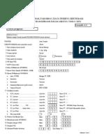 Contoh Pengisian Formulir A2