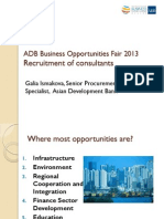 2 Recruitment of Consultants by G. Ismakova Final Rev 12Mar2013