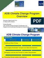 5 ADBGeneral - Climate Change by P. Bhandari