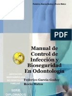 Manual de Control de Infeccion y Bioseguridad en Odontologia