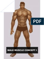 Male Muscle Concept