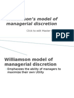 williamson model of anagerial discretion.pptx