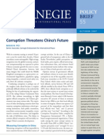 Corruption Threatens China's Future