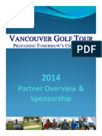 Vancouver Golf Tour Partner Overview Package
