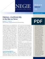 Pakistan—Conflicted Ally in the War on Terror