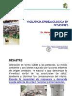 Vigilancia Epidemiologica Post Desastres