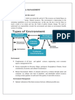 Environment Mangament Notes 1