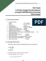 Bab 7 - Desain SRPMM Beton Bertulang Tahan Gempa  (c) Yoppy Soleman (Chapter 7 - Intermediate momen resisting frame system)