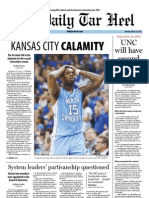 The Daily Tar Heel for March 25, 2013
