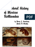 Armstrong, B. L., & J. B. Murphy. 1979. the Natural History of Mexican Rattlesnakes. Spec. Publ. Univ. Kansas Mus. Nat. Hist.