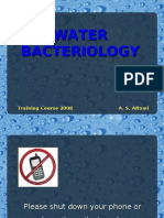 Water Bacteriology