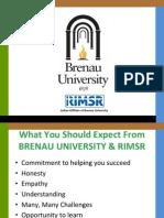 MBA in Brenau University