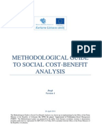 Methodological Guide to Social Cost-benefit Analysis