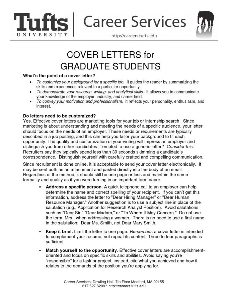 urban planning internship cover letter