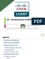 03 - Fundamentals of WANs