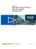 White Paper Best Practices Process Flow Incident Mgmt