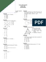 SD - Matematika 2007