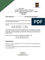 MC0074 Assignment Spring 2013