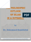 The Philosophic Outlook of Islam in a Nutshell