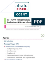 05 - TCP/IP Transport, Applications & Network Security