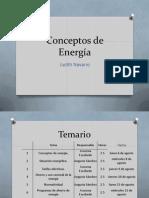 Conceptos de Energía