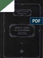 PSB 39 Chiril Al Alexandriei - Scrieri, Partea a Doua