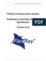 FlexRay Preliminary Central Bus Guardian Specification V2[1].0.9
