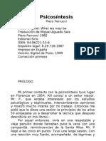 Ferrucci Piero Psicosintesis