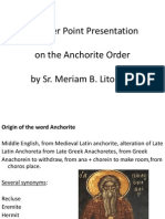 Who Are the Anchorites MERIAM LITOR, OP