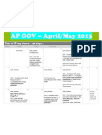 ap gov  april and may 2013 and key terms lists