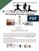 Healing Practice of Mudras