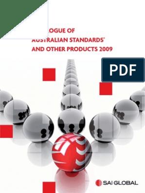 24211272-Australian-Standards-Catalogue-2009 pdf