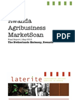 Rwanda Agribusiness MarketScan Report