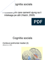 Cognitite sociala