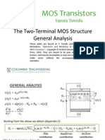 Lecture_Slides_2.3 The Two-Terminal MOS Structure – General Analysis