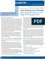 Asset Requirements Planning (ARP)