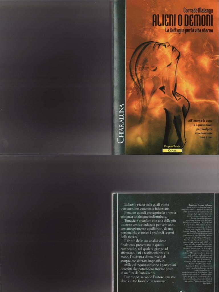 Alieni o Demoni La Battaglia Per La Vita Eterna C Malanga Http Animalibera  Forumfree It a61743cb8caf