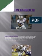 Marion Barber III-Dallas Cowboys Running Back
