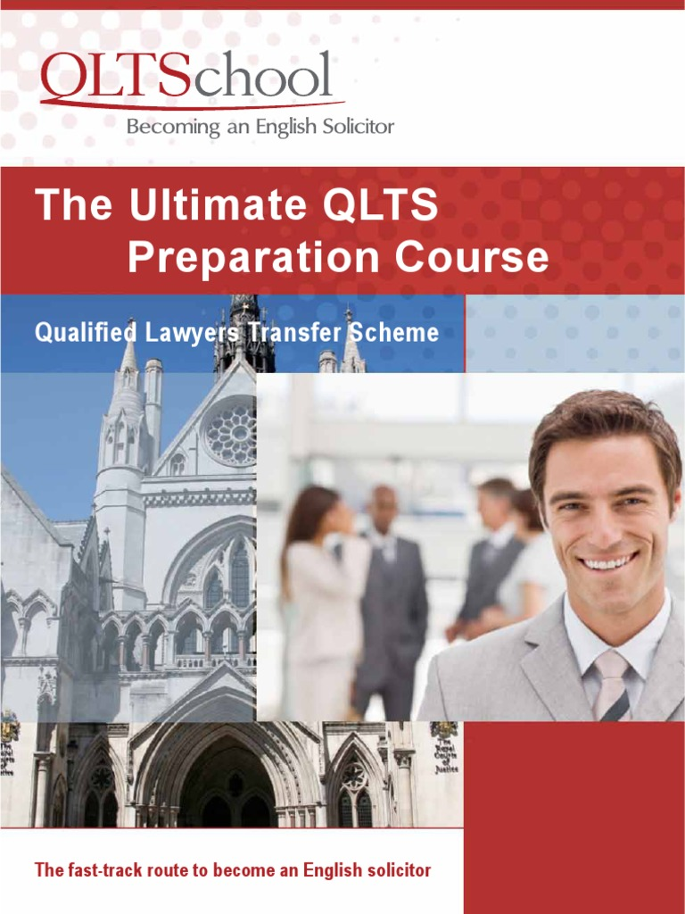 Brochure qlts School | Solicitor | Test (Assessment)
