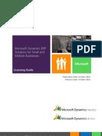 DynamicsERP PerpetualLicensingGuide Sept2012 Update