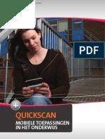 Quickscan Mobiele Toepassingen in Het Onderwijs(1)