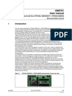 Getting Started With the STEVAL-MKI032V1, STM32-MEMS