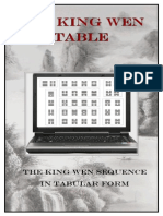 The King Wen Table of the I Ching