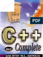 Aung Myint- C++ Complete- Vol. 2