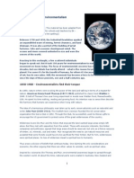 History of Environmentalism