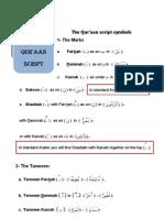 6 - lesson-quraan-script - QURAANIC ARABIC (WORDPRESS)