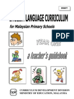 Teacher's Guide KSSR BI Yr 1