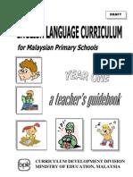 Teacher's Guide KSSR BI Yr 1