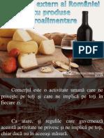 comertul extern al romaniei cu produse agroalimentare