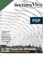 12 | Arquitectura Viva | Espacios Efímeros | Nº 141 | Urbanismo instantáneo. De la ciudad a la naturaleza by B. Tato y JL. Vallejo | pg. 24-27